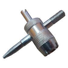 Filettatrice per riparazione valvole camera d'aria e valvole tubeless