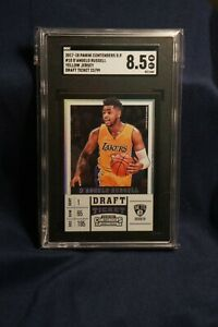 D'Angelo Russell 2017-2018 Panini Contenders Draft Ticket 22/99 SGC 8.5 Near MT
