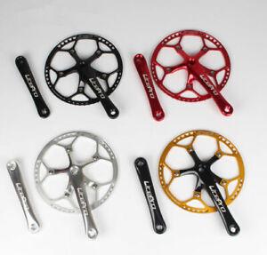 Litepro MTB Folding Road Bike 170mm Crankset 45-58T BCD 130mm Aluminum Chainring