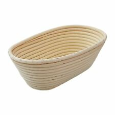More details for schneider oval bread proving basket in rattan - saves the warmth - 500g