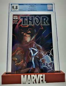 Thor #1, CGC 9.8 2020 Walmart Exclusive Variant! Cover by Ryan Stegman! God of