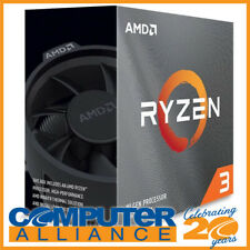 AMD AM4 Ryzen 3 3100 Quad Core 3.6GHz 65W CPU with Wraith Stealth Cooler
