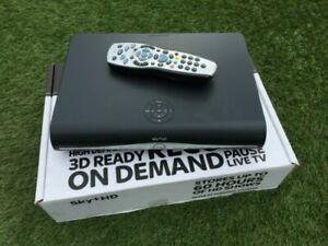 Sky+ Plus HD Digital Satellite Receiver 250GB Storage, w/ Remote + power , Boxed
