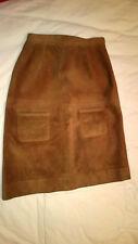 Hermès Boutique Sport Superbe et authentique jupe en peau vintage Très bon état
