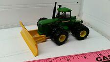 1/64 ERTL custom John deere 8850 4wd tractor w/  degelman silage blade farm toy