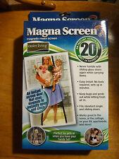 Magna Mesh Screen Door with 20-Magnet