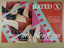 1971 Maidenform Rated X Bra Candied Apple Red vintage print Ad