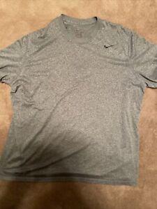 Men's Nike Dri-Fit Grey Athletic T-Shirt Size XXL