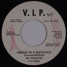 THE VELVELETTES: Needle in a Haystack USA VIP Northern Soul PROMO DJ 45 VG+ Hear