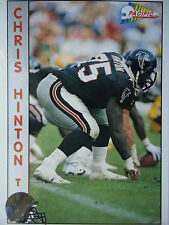 NFL 5 Chris Hinton T Tackle Pacific 1992
