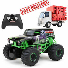 Grave Digger Monster Jam Truck Remote Control RC Racing Car 1:24 Kid Gift New