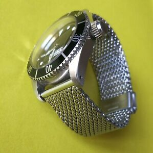 'Bond' mesh watch bracelet - Stainless steel BOND type Milanese watch strap