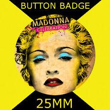 MADONNA CELEBRATION - IMAGE - Button Badge 25mm #2