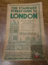 The Standard Street Guide to London Geographers Map Co Ltd Alphabetical Index