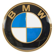 """Enamel plaque BMW ⌀ 20"""" 50 cm collectable sign old logo from 20's"""