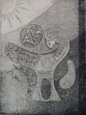 SIMORGH EAU FORTE Art Moderne Khosrow PARVIZ XXème Iran Perse Orient