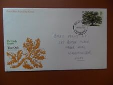 fdc 1973 Great Britain Oak Tree. Addressed