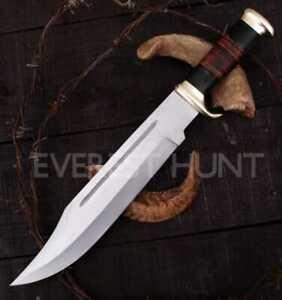 The Outback Knife Handmade Crocodile Dundee Bowie knife High Quality w/Sheath