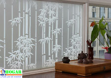 "CHOIS GW014 Adhesive Cling Privacy Frosted Bamboo Glass Window Films 35"" x 48"""
