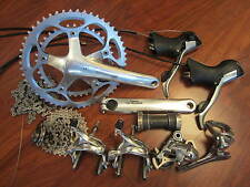 SHIMANO ULTEGRA 6600 10 SPEED 175 53/39T DOUBLE GROUP GRUPPO COMPLETE BUILD KIT