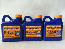 """3-K-SEAL Permanent Coolant Leak Repair 8 OUNCE BOTTLE ST5501 """"Fixes most leaks"""""""
