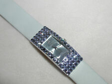 PRETTY LIGHT SAPHIRE BLUE AUSTRIAN CRYSTAL WATCH FORMAL PROM MOTHERS DAY GIFT