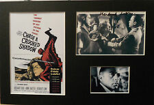 HERBERT LOM Signed 14x9 Photo Display CHASE A CROOKED SHADOW & LADYKILLERS COA