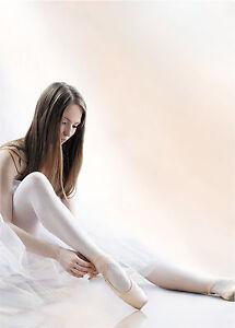 Ballett Show Ballsaal Tanz Rosa oder Weiss Strumpfhose Tanzbekleidung T26