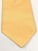 Holland & Sherry London 1836 100% Silk Yellow Men Tie Excellent