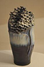große künstlerische Unikat Steinzeugvase von Schott 1991 Studiokeramik