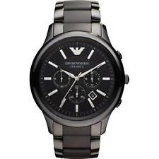 EMPORIO ARMANI Ceramica Chronograph Black Dial Men's Watch AR1451