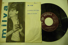 "MILVA"" NAPULE CA SE SCETA-disco 45 giri 1'Stampa CETRA It 1962"""