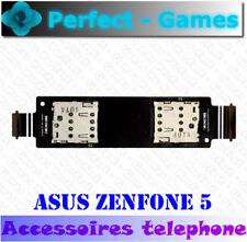 ASUS ZENFONE 5 Nappe flex cable lecteur carte double SIM dual card reader slot