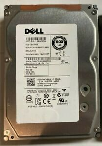 "DELL SEAGATE SAS HARD DRIVE 3TB 600GB 450GB 300GB 15K 3.5"""
