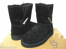UGG MEADOW WOMEN SHORT BOOTS BLACK US 7 /UK 5.5 /EU 38 /JP 23
