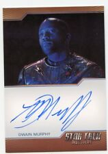 Star Trek Discovery S1 Le autograph Dwain Murphy Mirror Captain Maddox Bordered
