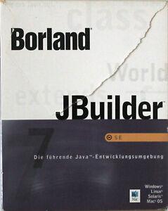 RARITÄT - Borland JBuilder 7 SE - Deutsch