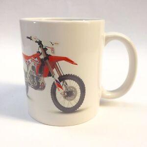 Honda CRF Enduro Motorbike Mug Gift Can Be Personalised