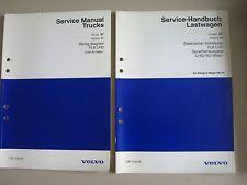 Service MANUAL wiring diagram VOLVO TRUCK fl6 (LHD) 11.1998 schemi