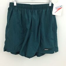 New speedo mens swim trunks large Green