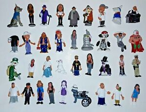 Homies lot of 36 different figures very good condition various series 1:32 scale