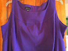 Womens Dress Size 24W Purple Sheath