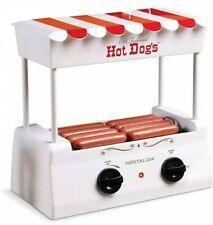 NIB Nostalgia Brand Electric 8 Hot Dog Roller Cooker & Bun Warmer Machine