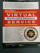 Virtual Bankruptcy Assistant Training Materials  (How to Books and CDs)