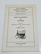 Rocks and Minerals of Tennessee by Robert Floyd 1957 Information Circular #5