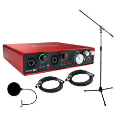 Focusrite Scarlett 6i6 USB Audio Interface (2nd Gen) w/ Professional Tools