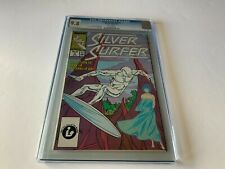 SILVER SURFER V3 2 CGC 9.8 WHITE PAGES SHALLA BAL MARVEL COMICS 1987