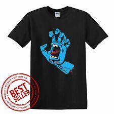 Santa Cruz Screaming Hand Black Unisex T-Shirt Size S-5XL