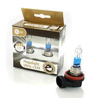 GE H11 LAMPE 12V 55W PGJ19-2 MegaLight Ultra +130% 2 pièces GE 53110xnu