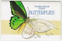 1983 STAMP PACK 'AUSTRALIAN ANIMAL SERIES III - BUTTERFLIES' - WITH 9 MNH STAMPS